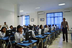 IBI Darmajaya Dipercaya Polda Lampung Merancang Program CAT Tes Penerimaan Polri