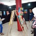 43 Lukisan Tampil di Pameran Lukisan UKMBS Kombir
