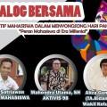 Dialog Bersama, BEM Darmajaya 'Paksa' Generasi Muda Ambil Posisi di Era Milenial