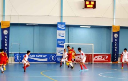 Futsal Mahasiswa Tingkat Nasional 11 Perguruan Tinggi Berkompetisi