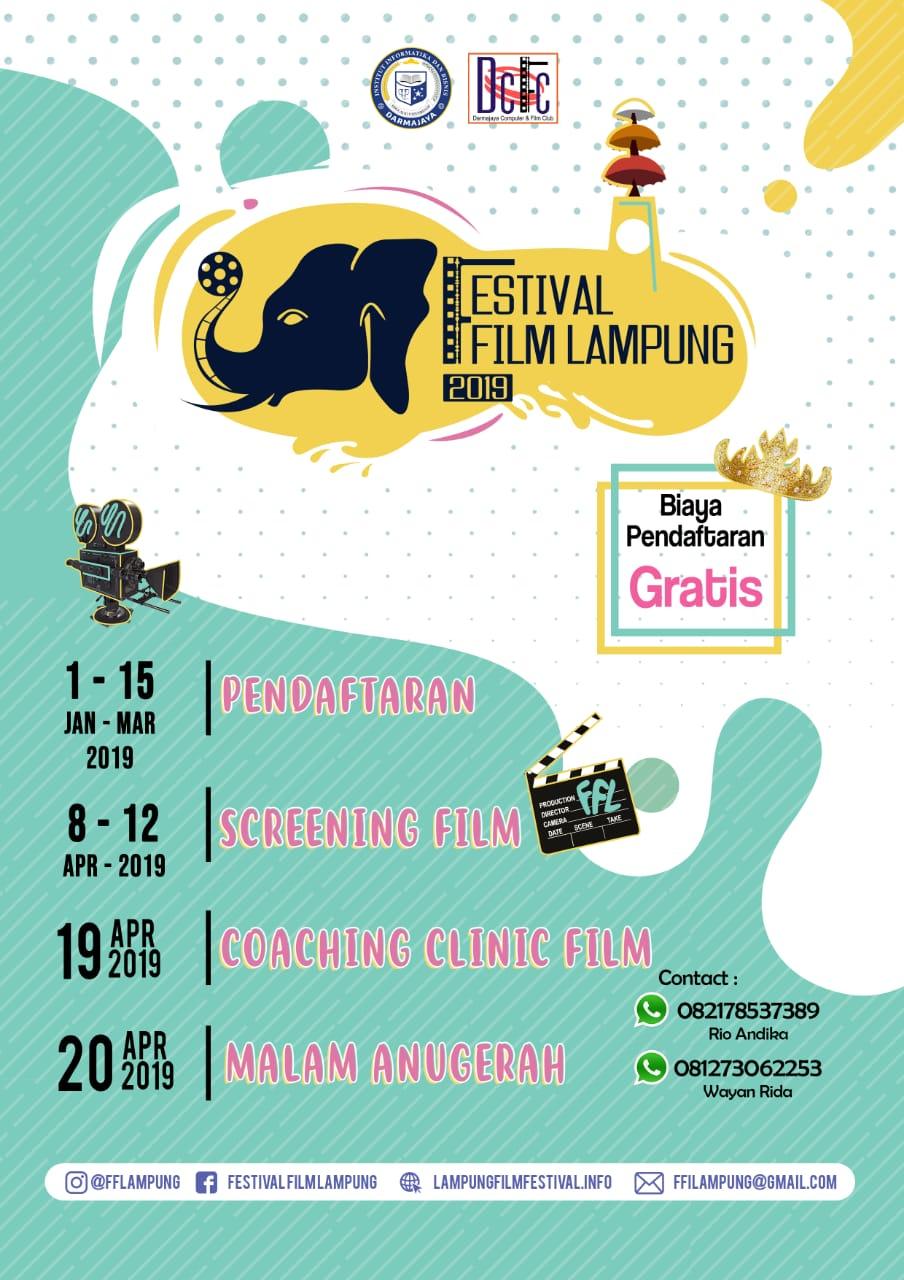 Kuy Daftar Online Festival Film Lampung 2019 !