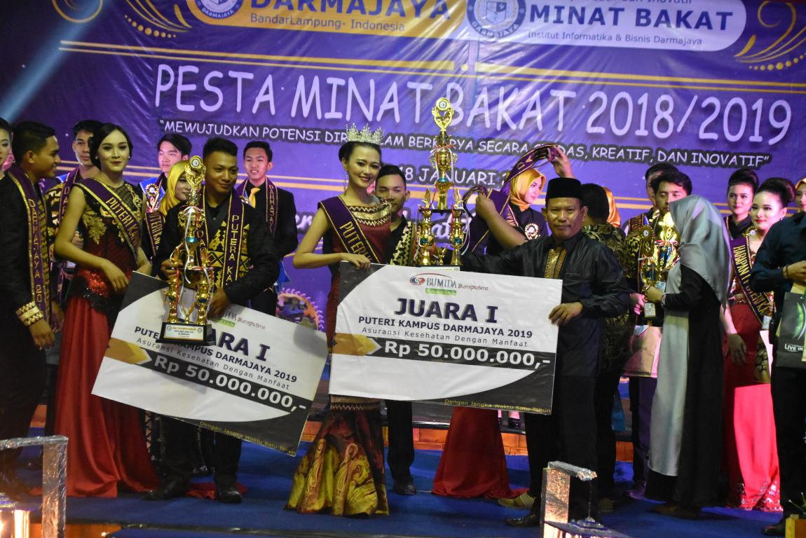 Pesta Minat dan Bakat : Krisna – Caca Putra Putri Kampus IIB Darmajaya 2019