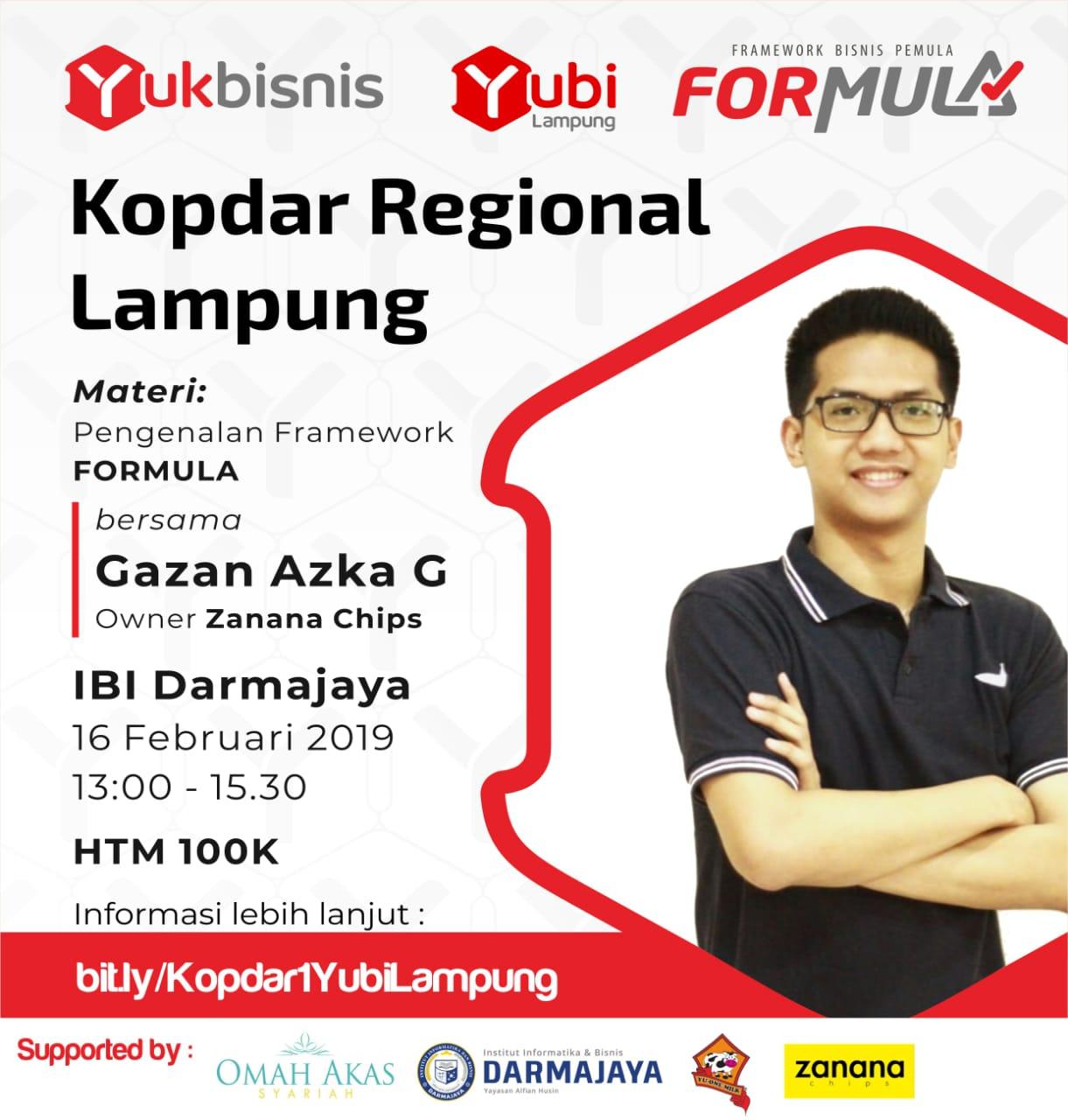 Kolaborasi, Yubi Lampung – IIB Darmajaya Gelar Pengenalan Framework Formula