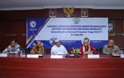 Selamat, Prodi Magister Manajemen IIB Darmajaya Raih Akreditasi B