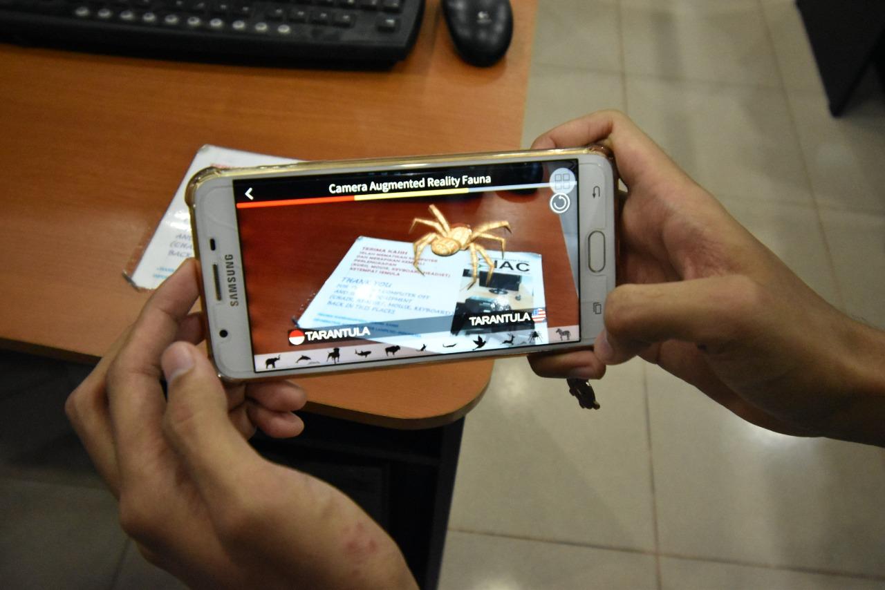 Wow, Lulusan Darmajaya Ciptakan Aplikasi Android Pengenalan Fauna 3D