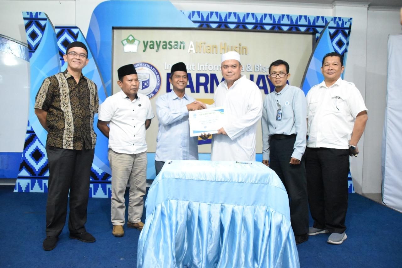 Kelola Zakat, Infak dan Sedekah IIB Darmajaya MoU dengan LAZDAI Lampung