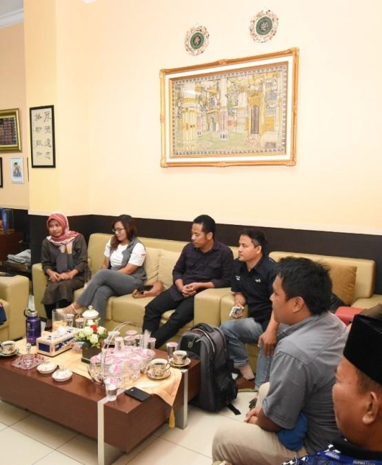 Prodi DKV, IIB Darmajaya dan IJTI Lampung Siap Jalin Kerjasama
