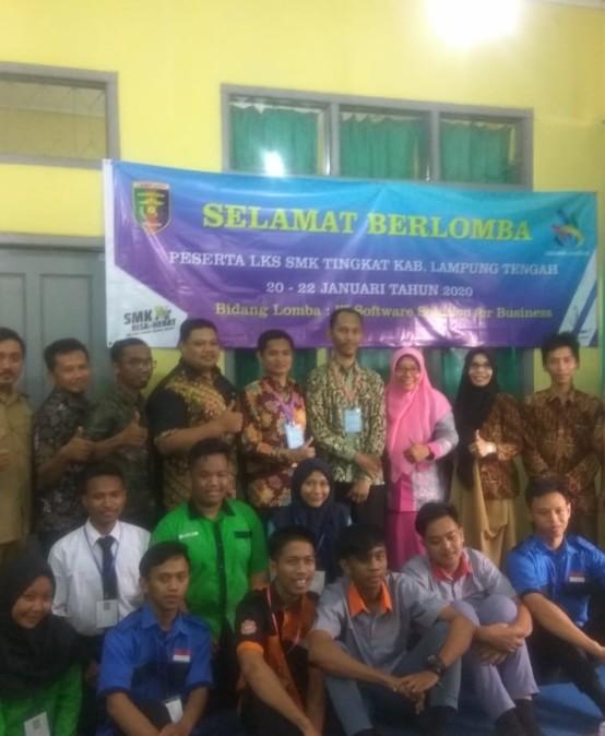 Dosen IIB Darmajaya Jadi Juri Lomba LKS SMK se Lampung Tengah