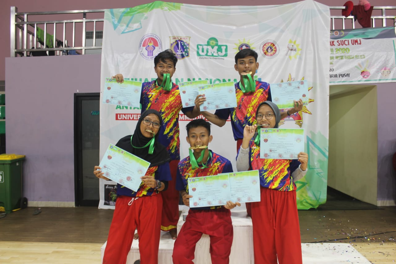Enam Mahasiswa IIB Darmajaya Juara Kejuaraan Nasional Tapak Suci