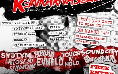 Catat! Reinkarnasoul IV IIB Darmajaya Kembali Hadir Bagi Pecinta Musik Underground