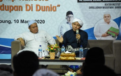 Dr. Habib Segaf Serukan Sivitas IIB Darmajaya Jadikan Gelar Akademik Bermanfaat untuk Masyarakat