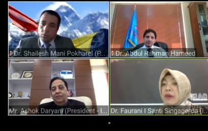 Dekan FEB IIB Darmajaya Tampil dalam International Academicians Round Table Discussion
