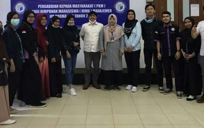 Dosen IIB Darmajaya Latih Mahasiswa Kelola Bank Sampah