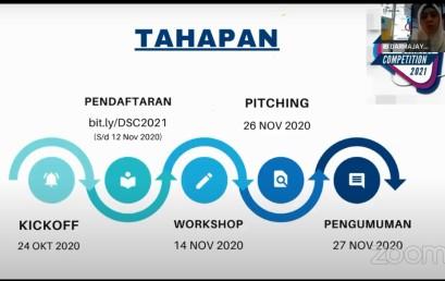 Total Hadiah Rp100 Juta, Darmajaya Startup Competition 2021 Resmi Dibuka