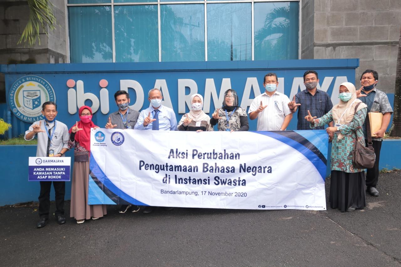 IIB Darmajaya Dukung Penggunaan Bahasa Indonesia yang Baik dan Benar