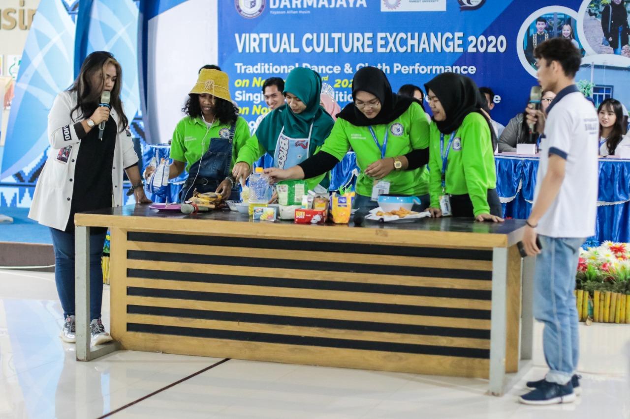 "IIB Darmajaya Kenalkan ""Geguduh"" dalam Virtual Culture Exchange"