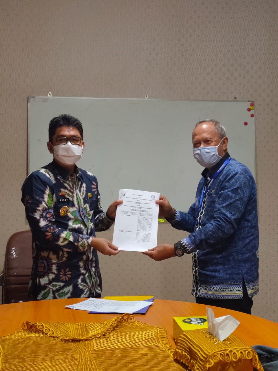 IIB Darmajaya–Bappeda Lampung Kerjasama Penyusunan Masterplan Smart Village