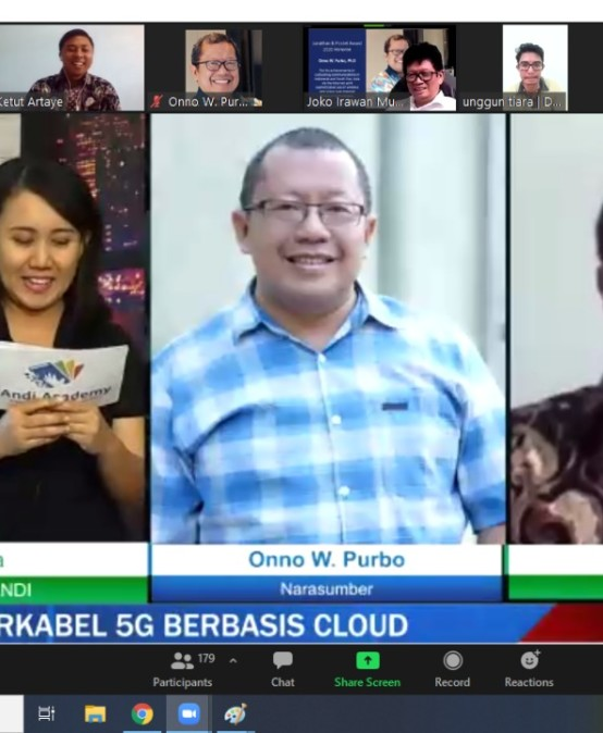 Dosen IIB Darmajaya, Onno W Purbo: Indonesia Bisa Hidupkan Jaringan 5G ke Desa