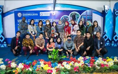 Virtual Culture Exchange IIB Darmajaya Ditutup dengan Pengenalan Bahasa