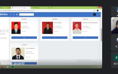 Gelar Pemira Online 2020 : IIB Darmajaya Pilih Presiden, Wakil Presiden, dan Ketua HIMA