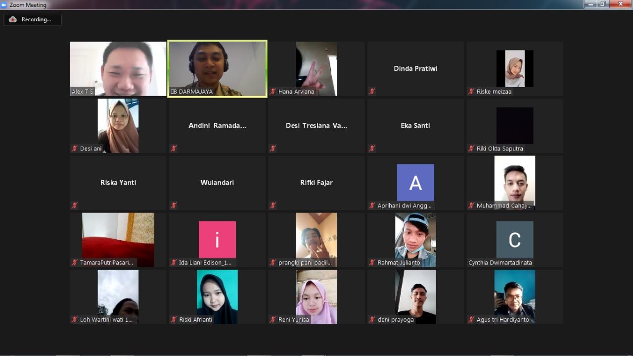AMA Lampung Berikan Strategi Bisnis kepada Mahasiswa Darmajaya