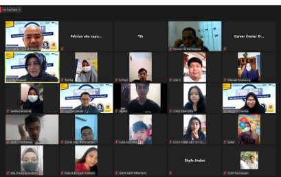 Sharing Session & Campus Hiring IIB Darmajaya, Kacab Asuransi Astra Lampung: Semua Orang adalah Marketer
