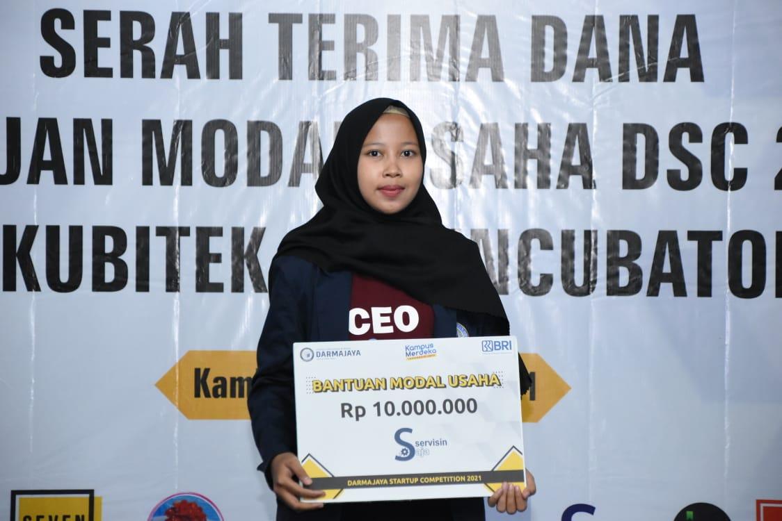 Niat Kembangkan Usaha Keluarga, Mahasiswi TI ini Jadi Pemenang DSC 2021