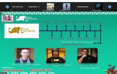 UKM DCFC Gelar Sosialisasi FFL 2021, Yuuk Sineas Muda Daftarkan Karya Filmmu