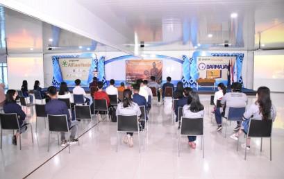 Jalin Keakraban, UKM Buddha Institut Swasta Terbaik di Indonesia Gelar Budhist Family