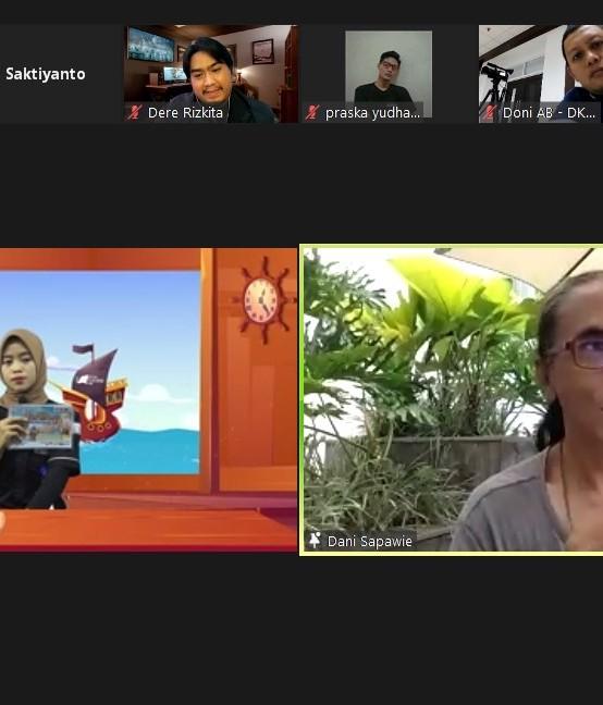Workshop Festival Film Lampung 2021, UKM DCFC Hadirkan Tiga Juri Nasional