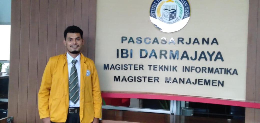 Mahasiswa Asal Thailand ini Selesaikan Studi Magister Manajemen IIB Darmajaya