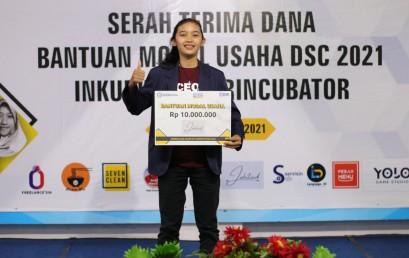 Satu-satunya di Lampung, Startup Mahasiswi Darmajaya ini Lolos Tahap 1 ASMI 2021