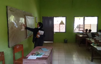 Kampus Mengajar I Tahun 2021, Anita Sari Dwiyani Sampaikan Materi Pelajaran dengan Games dan Video di YouTube