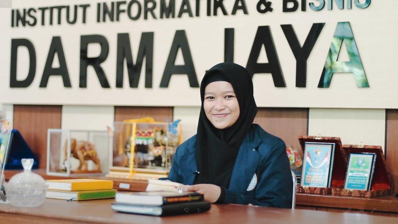 Program Bangkit 2021, Mahasiswi Sistem Informasi Darmajaya Garap GETLOC