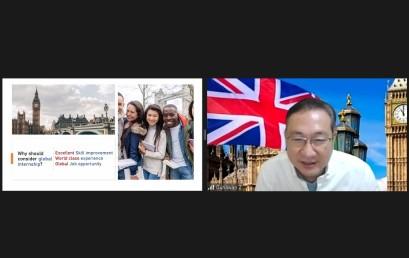 IIB Darmajaya–Royal European Internship Council Gelar Webinar Magang Global di London