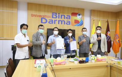 Prodi SK PTS Terbaik se-Sumbagsel ini MoA dengan Universitas Bina Darma Palembang