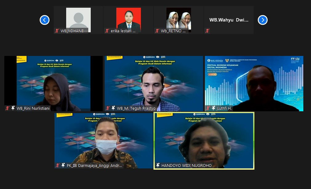 Dosen Prodi SI PTS Terbaik se Sumbagsel ini Bagikan Ilmu UI/UX bersama Sharing Alumni Dunia Kerja