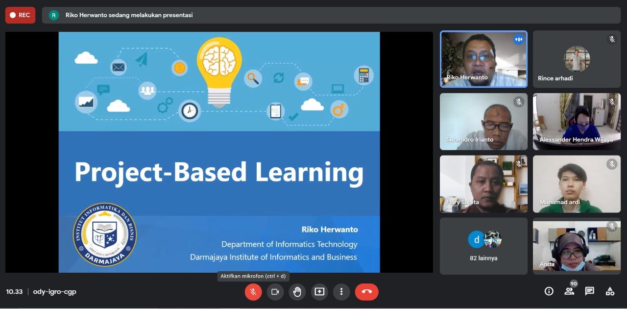 PTS Terbaik di Sumbagsel, Prodi Teknik Informatika ini Siapkan Mahasiswa Kerjakan Project Based Learning