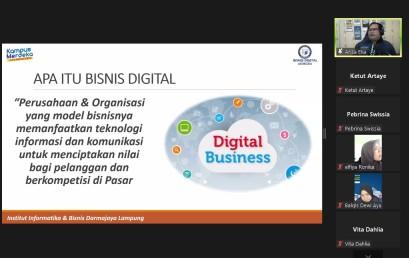 Kaprodi Bisnis Digital Berikan Pelatihan Mahasiswa FEB dalam Peningkatan Pemasaran UKM dan UMKM di Lampung