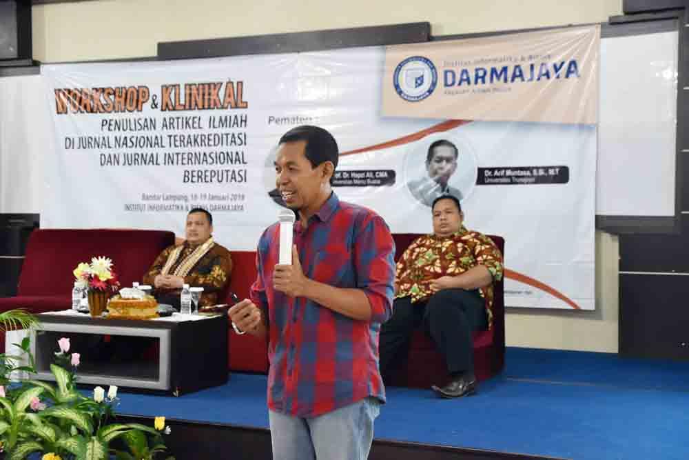 Workshop Dan Klinikal Darmajaya Kiat Tembus Jurnal Nasional Dan Internasional Iib Darmajaya