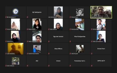 Hadirkan Co Founder Angsur, Inkubitek Darmajaya Gelar Seminar Online Design Thinking