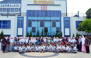 Lagi, Siswa SMK Budi Utama Kunjungi IBI Darmajaya
