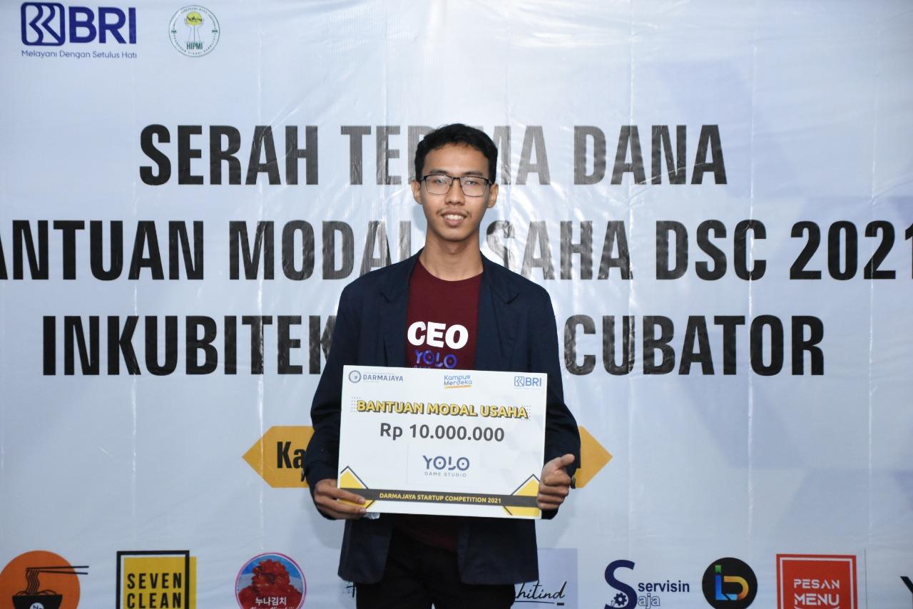 Startup Game, Mahasiswa Prodi TI ini Menangi DSC 2021