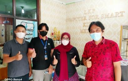 Pembuatan Media Ajar Interaktif, LP2M Darmajaya Jajaki Kerjasama dengan LKP di Metro