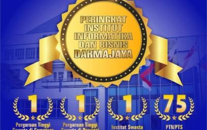 IIB Darmajaya Raih Peringkat Institut Swasta Terbaik Tanah Air