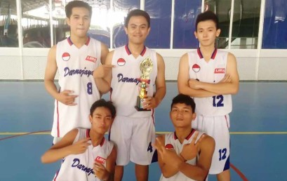 Basket Darmajaya Juara II SPACES 2016