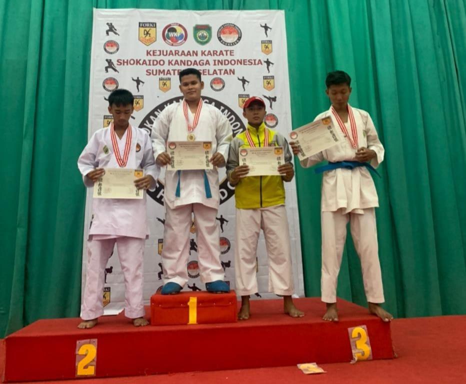 Mahasiswa Prodi Teknik Informatika Darmajaya Juara Piala Percha Leanpuri Shokaido Sumatra Selatan 2021