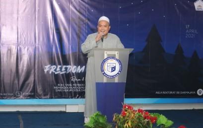 Ini Pesan Rektor IIB Darmajaya dalam Perayaan Paskah Mahasiswa