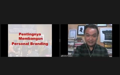 IIB Darmajaya–PT Tunas Dwipa Matra Gelar Webinar Sharing Tips & Trik Self Branding