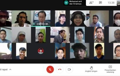 Visiting Lecture Inbound, Profesor Taiwan Isi Kuliah e-Sport kepada Mahasiswa Darmajaya